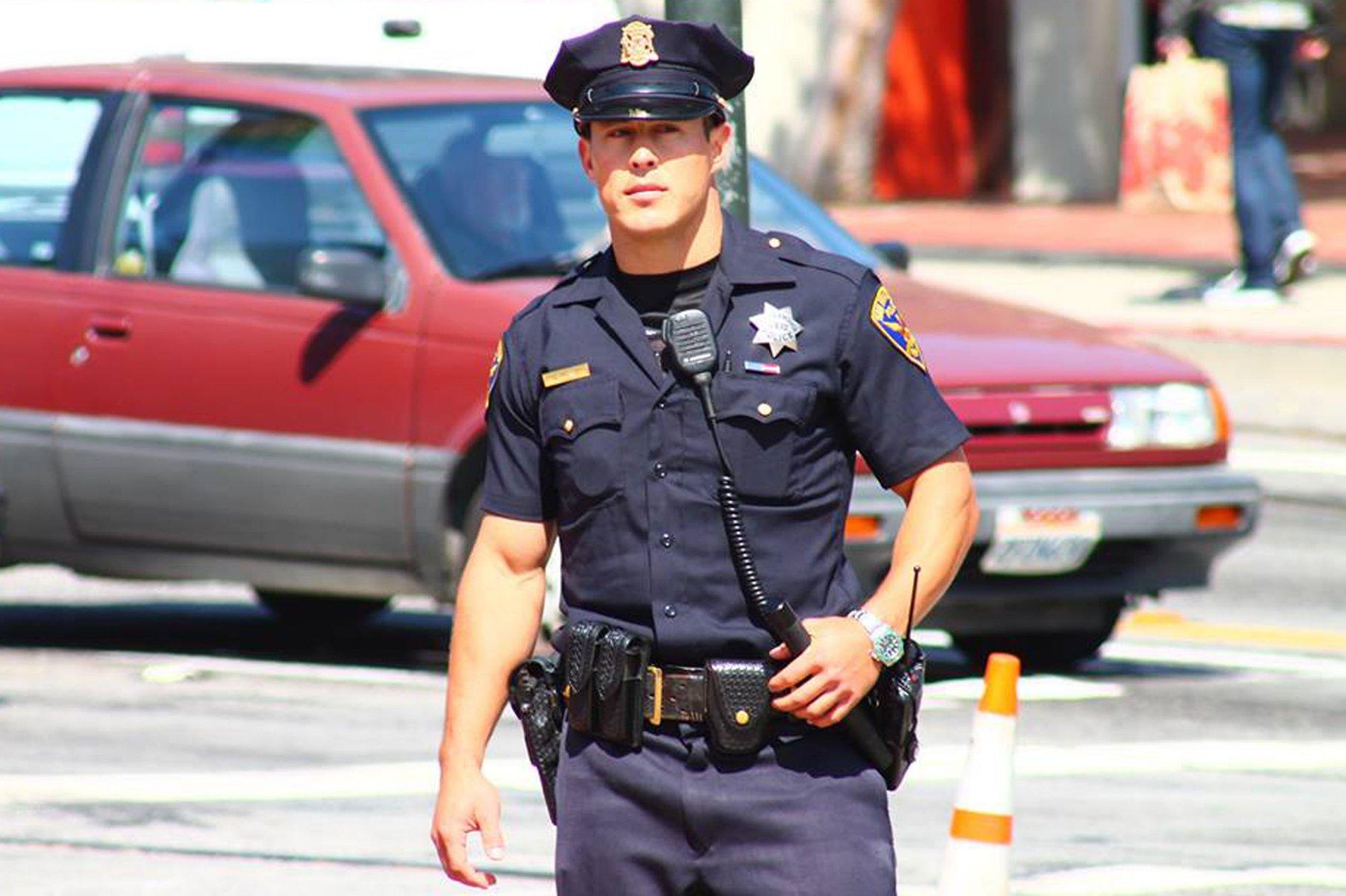 Hot police men